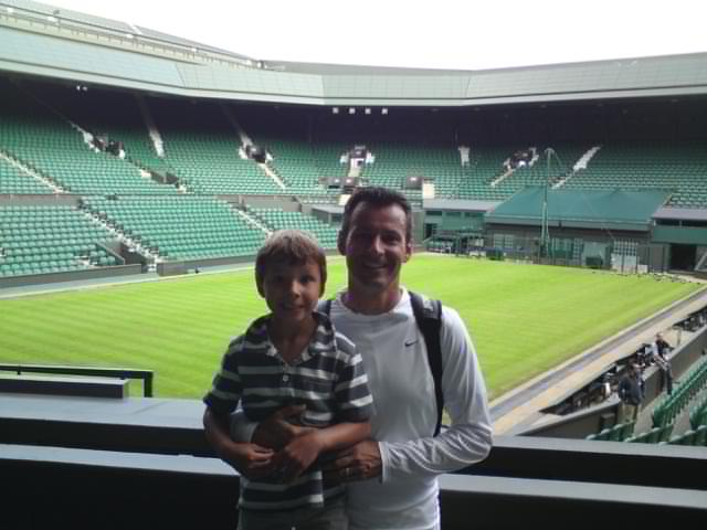 Johnny Barr, former Scottish Tennis International, pictured here with his son Cameron, arranges many holidays for famous sports personalities to top resort destinations through his company Design Holidays (blog.designholidays.co.uk).  Credited […]
